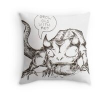 LOVELY7 Throw Pillow