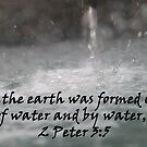&quot;2 Peter 3:5&quot;  by Carter L. Shepard by echoesofheaven