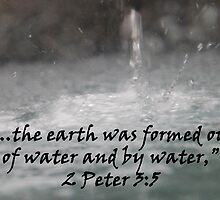 """2 Peter 3:5""  by Carter L. Shepard by echoesofheaven"