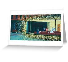 Van Gogh's Nighthawks Greeting Card