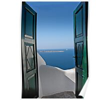Doors To the Aegean Poster