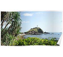 Island Light House  Poster