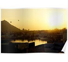 Balloons over Pushkar Poster