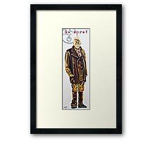 The War Doctor Framed Print