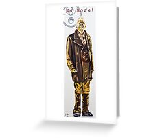 The War Doctor Greeting Card
