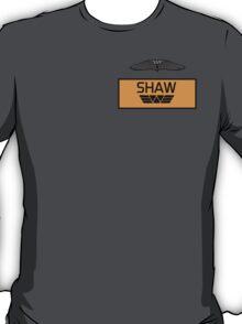 Elizabeth Shaw's Name Tag T-Shirt