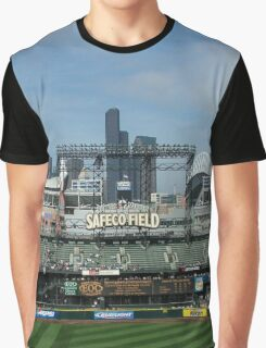 Seattle Home of Baseball Fever Graphic T-Shirt