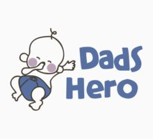 dads hero Kids Tee