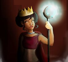 The Queen with the Light by AlexArtShop