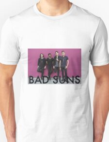 Bad Suns pink wall T-Shirt