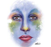 Painted Face by AlexArtShop