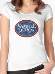 SamueL Jacksons Women's Fitted Scoop T-Shirt