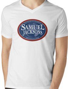 SamueL Jacksons Mens V-Neck T-Shirt