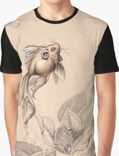 Flying FancyTail Mermouse Graphic T-Shirt