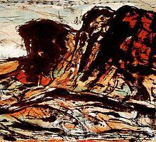 three peaks... valley below by banrai