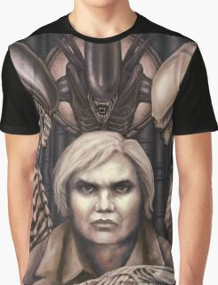 Giger Portrait Graphic T-Shirt
