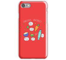 Christmas Vegetables iPhone Case/Skin