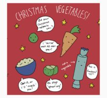 Christmas Vegetables Kids Clothes