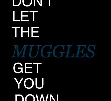 Muggles Print Ravenclaw by Brooke  Hager