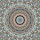 Colorful Ornate Abstract by Phil Perkins