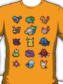 Pixel Pokemon sticker pack T-Shirt
