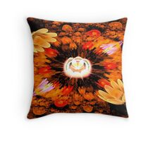 The New Baby Flower Throw Pillow