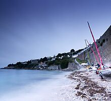 Smooth St. Mawes Daybreak by Andy Freer