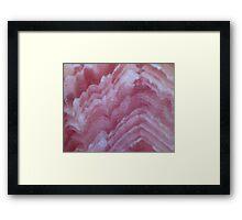Pretty In Pink (Rhodochrosite) Framed Print