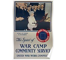 The spirit of war camp community service 002 Poster