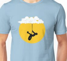 Swinging from the clouds... Unisex T-Shirt
