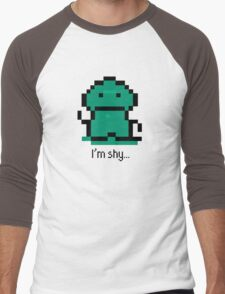 I'm shy - EarthBound Tenda Men's Baseball ¾ T-Shirt