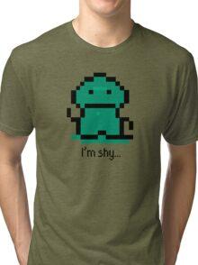 I'm shy - EarthBound Tenda Tri-blend T-Shirt