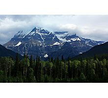 Mount Robson Photographic Print