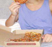 Ethan Dolan Pizza Sticker