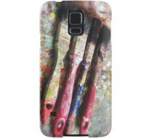 Four Paintbrushes Samsung Galaxy Case/Skin