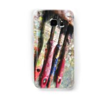 Four Paintbrushes Samsung Galaxy Case/Skin