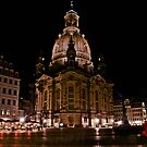 Dresden/Frauenkirche by night by x- pose