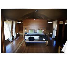 My room at Wildman Wilderness Lodge Poster