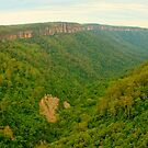 Kangaroo Valley panorama by Michael Matthews