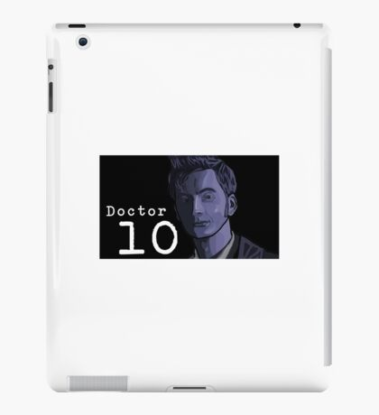 Doctor Who, Doctor 10 iPad Case/Skin