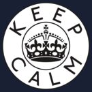 KEEP CALM ROUNDEL ii by GraceMostrens