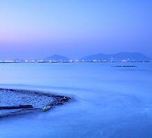 Sunset coast in Hong Kong by kawing921
