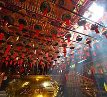 Man Mo Temple in Hong Kong by kawing921