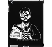 Charlie Barnes - Bastille - Twin Peaks iPad Case/Skin