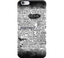 Pierce the Veil lyrics iPhone Case/Skin