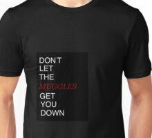 Muggles Print Gryffindor Unisex T-Shirt