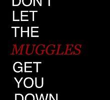 Muggles Print Gryffindor by Brooke  Hager