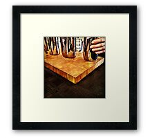Rosetta Roastery Pourover Bar 02 Framed Print