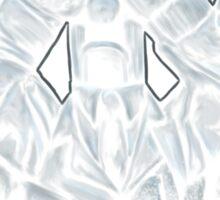 BEWARE THE MEEPING ANGELS Sticker