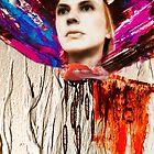 Fiona and scarf  by Mick Kupresanin